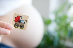 Ένα νέο μωρό Στοκ εικόνα με δικαίωμα ελεύθερης χρήσης