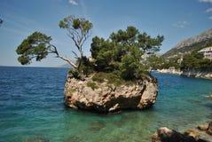 Ένα νησί πετρών Στοκ φωτογραφία με δικαίωμα ελεύθερης χρήσης