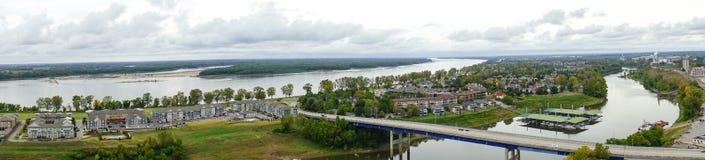 Ένα νησί στο ποτάμι Μισισιπή Στοκ εικόνα με δικαίωμα ελεύθερης χρήσης