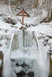 Ένα παγωμένο ιερό ελατήριο Στοκ Φωτογραφίες