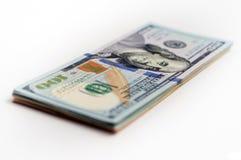 Ένα πακέτο των τραπεζογραμματίων αμερικανικών δολαρίων Στοκ φωτογραφία με δικαίωμα ελεύθερης χρήσης