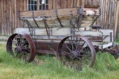 Ένα παλαιό βαγόνι εμπορευμάτων στο σώμα, Καλιφόρνια στοκ εικόνες