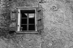 Ένα παλαιό παράθυρο στη Βενετία Στοκ εικόνες με δικαίωμα ελεύθερης χρήσης