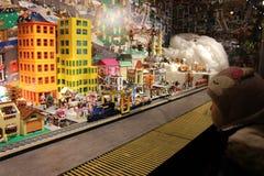 Ένα παράθυρο για τα παιδιά Στοκ Εικόνες