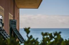 Ένα παράθυρο στη θάλασσα Στοκ Φωτογραφίες