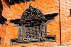 Ένα παράθυρο, Kumari Bahal στην πλατεία του Κατμαντού Durbar Στοκ φωτογραφία με δικαίωμα ελεύθερης χρήσης