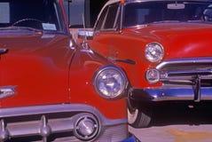 Ένα παλαιό αυτοκίνητο Chevy του 1953 σε Hollywood, Καλιφόρνια Στοκ Φωτογραφία