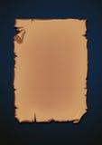 Ένα παλαιό διανυσματικό αρχείο χαρτών Στοκ Εικόνα