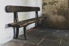 Ένα παλαιό κάθισμα πάγκων Στοκ Εικόνες