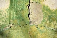 Ένα παλαιό κομμάτι του χρώματος τοίχων Στοκ εικόνες με δικαίωμα ελεύθερης χρήσης