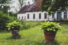 Ένα παλαιό κτήμα κάστρων Στοκ Φωτογραφίες