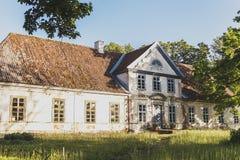 Ένα παλαιό κτήμα κάστρων Στοκ Εικόνες