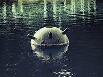 Ένα παλαιό ναυτικό ορυχείο Στοκ Εικόνες
