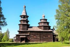 ένα παλαιό ξύλινο κτήριο Στοκ Εικόνα