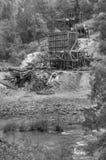 Ένα παλαιό ορυχείο στο πλίνθωμα, ασβέστιο στοκ εικόνα με δικαίωμα ελεύθερης χρήσης