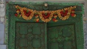 Ένα περιστέρι που στηρίζεται σε έναν τοίχο απόθεμα βίντεο
