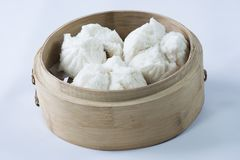 Ένα πιάτο του αμυδρού ποσού Bao στοκ εικόνες