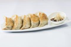 Ένα πιάτο του αμυδρού ποσού Bao στοκ φωτογραφίες