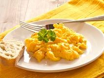 Ανακατωμένα αυγά Στοκ Εικόνες