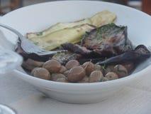 Ένα πιάτο των χαρακτηριστικών σαρδηνιακών εκκινητών στοκ φωτογραφία με δικαίωμα ελεύθερης χρήσης