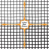 Ένα πλέγμα των γραμμών διαφορετικού πάχους Στοκ εικόνες με δικαίωμα ελεύθερης χρήσης