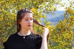 Ένα πορτρέτο ενός όμορφου έφηβη στοκ φωτογραφίες με δικαίωμα ελεύθερης χρήσης