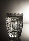 Ένα ποτήρι της Chrystal της βότκας Στοκ Εικόνα