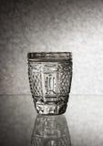 Ένα ποτήρι της Chrystal της βότκας Στοκ Φωτογραφίες