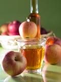 Ένα ποτήρι του χυμού της Apple Στοκ εικόνες με δικαίωμα ελεύθερης χρήσης
