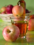 Ένα ποτήρι του χυμού της Apple Στοκ Εικόνα
