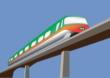 Μονοτρόχιος σιδηρόδρομος ελεύθερη απεικόνιση δικαιώματος