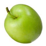Η πράσινη Apple στο άσπρο υπόβαθρο Στοκ Εικόνα