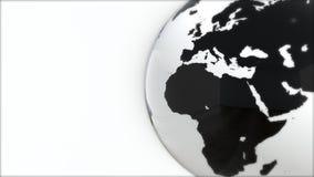 Ένα πρότυπο της γης 3d earth Στοκ εικόνες με δικαίωμα ελεύθερης χρήσης