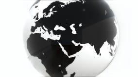 Ένα πρότυπο της γης 3d earth Στοκ Εικόνες