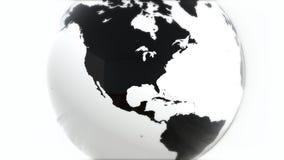 Ένα πρότυπο της γης 3d earth Στοκ φωτογραφίες με δικαίωμα ελεύθερης χρήσης