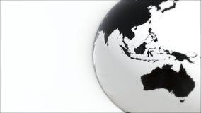 Ένα πρότυπο της γης 3d earth Στοκ Φωτογραφίες