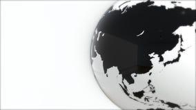 Ένα πρότυπο της γης 3d earth Στοκ Εικόνα