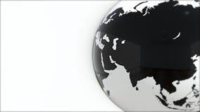Ένα πρότυπο της γης 3d earth Στοκ φωτογραφία με δικαίωμα ελεύθερης χρήσης