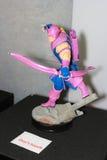 Ένα πρότυπο του χαρακτήρα Hawkeye από τους κινηματογράφους και το comics 2 Στοκ φωτογραφία με δικαίωμα ελεύθερης χρήσης