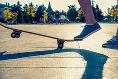 Ένα πόδι που στέκεται στο σαλάχι στοκ φωτογραφία με δικαίωμα ελεύθερης χρήσης