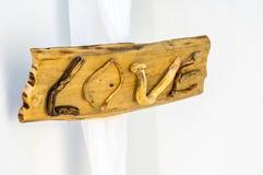 ένα σημάδι της αγάπης Στοκ Εικόνες