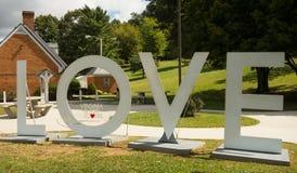Ένα σημάδι υποδοχής σε ένα κέντρο επισκεπτών ` στην Αμερική στοκ φωτογραφία