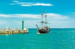 Ένα σκάφος πειρατών Στοκ Φωτογραφία