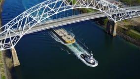 Ένα σκάφος φορτίου Στοκ Εικόνες