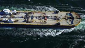 Ένα σκάφος φορτίου Στοκ φωτογραφίες με δικαίωμα ελεύθερης χρήσης