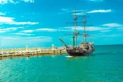 Ένα σκάφος pirat Στοκ εικόνες με δικαίωμα ελεύθερης χρήσης