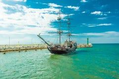 Ένα σκάφος pirat Στοκ Εικόνα