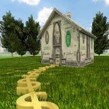 Ένα σπίτι είναι μια επένδυση Στοκ φωτογραφία με δικαίωμα ελεύθερης χρήσης