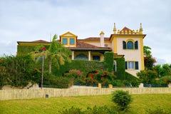 Ένα σπίτι πολυτέλειας στην πόλη Ponta Delgada, νησί του Miguel Σάο, Αζόρες, Στοκ Εικόνες
