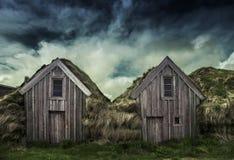 Ένα σπίτι τύρφης Στοκ εικόνα με δικαίωμα ελεύθερης χρήσης